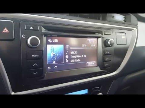 Dension DAB+U i 2014 Toyota Auris