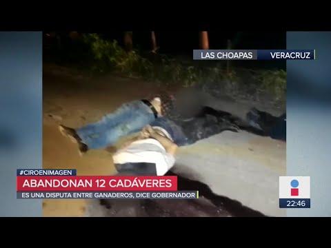 Dejan 12 cuerpos apilados con huellas de tortura en Las Choapas
