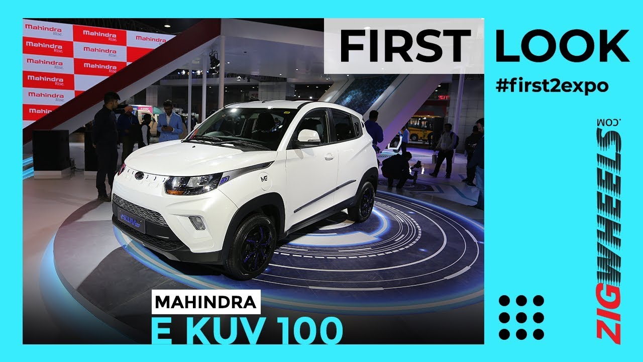 Mahindra eKUV100 India First Look Review Auto Expo 2020