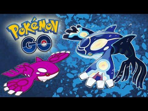 connectYoutube - ¡NUEVA ACTUALIZACIÓN! SPRITES de KYOGRE y KYOGRE SHINY en los servidores de Pokémon GO! [Keibron]