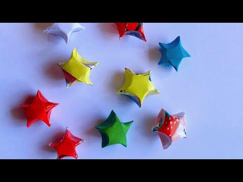 วิธีพับดาว-How-to-origami-star