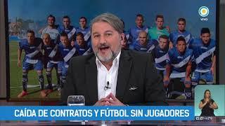 Caída de contratos y fútbol sin jugadores