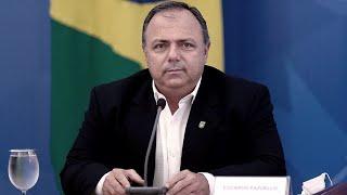 Bolsonaro designó a su tercer ministro de Salud durante la pandemia
