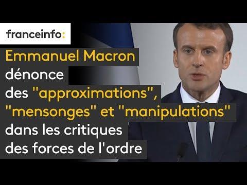 connectYoutube - Calais : Emmanuel Macron dénonce des
