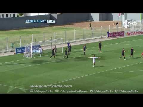 يوسفية برشيد 1-0المغرب التطواني هدف ايوب مودان ضد مرماه