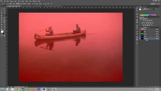 Photoshop CS6 Tutorial - 145 - Creating Channel Masks from Scratch