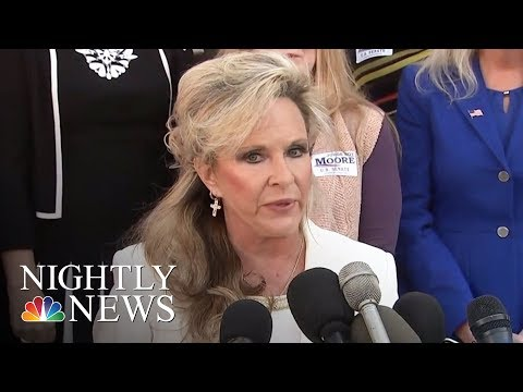 Roy Moore's Wife Says He Will Not Step Down | NBC Nightly News