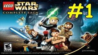Lego Star Wars The Complete Saga Walkthrough Episode 1 Chapter 1 Negotiations