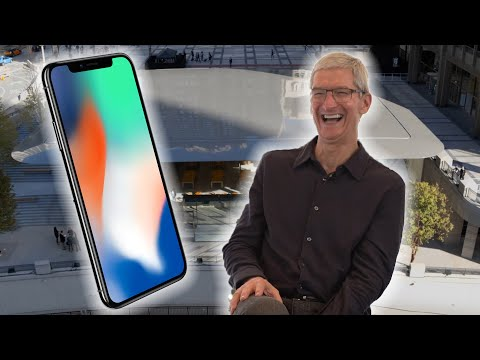 Tim Cook Talks iPhone X, Trump, and The Future Of The Apple Store