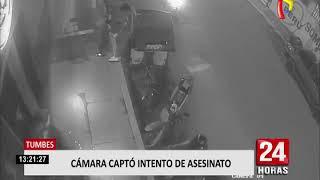 Tumbes: sicarios intentan asesinar a balazos a un hombre