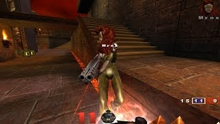 Quake III Arena - Walkthrough - Nightmare - Tier 1