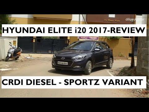 Hyundai Elite i20 2017 Review - CRDI Diesel Sportz Variant