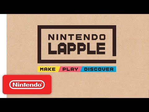First Look at Nintendo Labo (Parody)