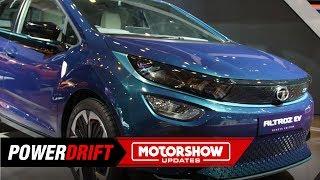 டாடா ஆல்டரோஸ் & ஆல்டரோஸ் ev : the நியூ பிரீமியம் hatchbacks : geneva international motor show : powerdrift