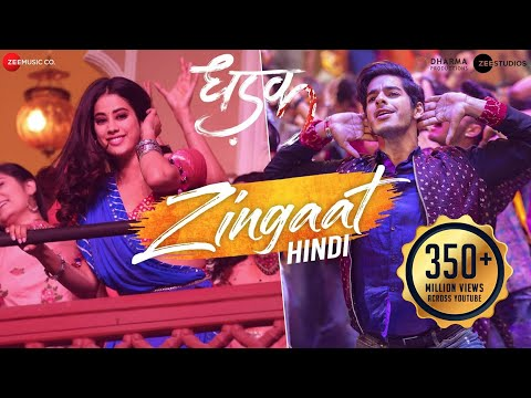 ZINGAAT HINDI LYRICS - Dhadak | Janhvi & Ishaan