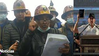 Cooperativa Mineras advierten que no van a permitir ningún acto de convulsión en el país - Bolivia