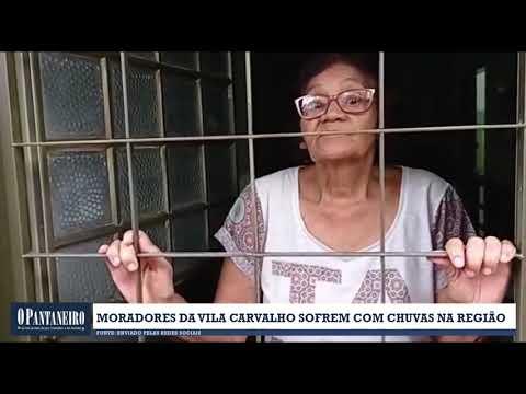 Moradores da Vila Carvalho sofrem com chuvas na região