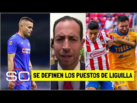 LIGA MX Cruz Azul empató. Chivas y Tigres se clasifican a liguilla en última fecha | SportsCenter
