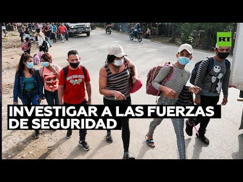 Honduras exhorta a Guatemala a investigar la detención de una caravana de migrantes rumbo a EE.UU.