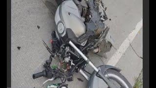 Motociclista murió en accidente en ruta a San Juan Sacatepéquez