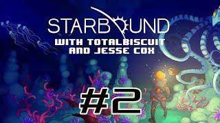 Starbound Beta - Episode 2 - Jesse is bad at First Contact