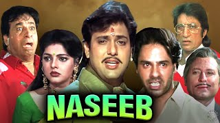 Naseeb Hindi Full Movie | नसीब 1997 | Govinda, Mamta Kulkarni, Kader Khan, Rahul Roy, Shakti Kapoor - RAJSHRI