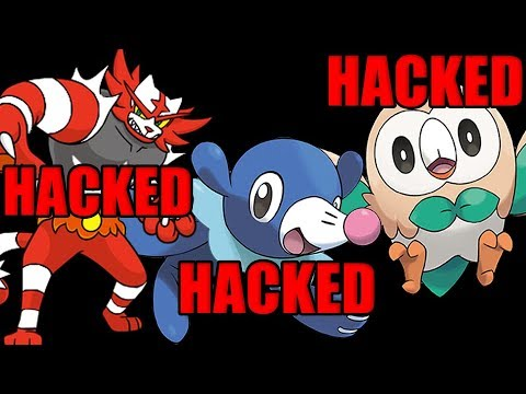 connectYoutube - Why Non Pokeball Gen 7 Starters Are ALWAYS HACKED