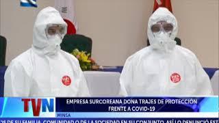 EMPRESA SURCOREANA DONA AL MINSA TRAJES DE PROTECCIÓN FRENTE A COVID-19