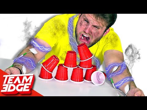 SHOCKING Cup Stacking Challenge!!