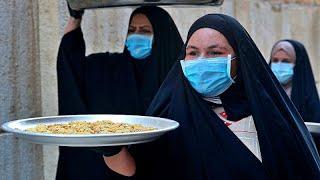 Los musulmanes celebran el fin del Ramadán