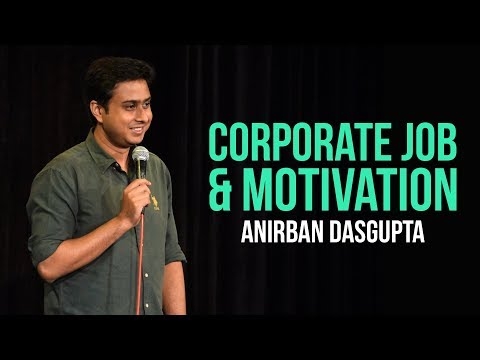 connectYoutube - Corporate Job and Motivation | Anirban Dasgupta stand up comedy