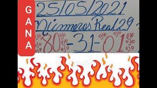 NUMEROS PARA HOY 25/05/2021 DE MAYO PARA TODAS LAS LOTERIAS