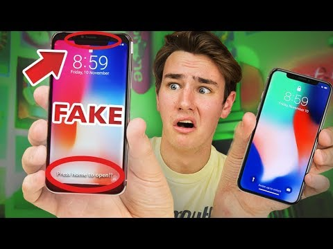 $125 Fake iPhone X - How Bad Is It?