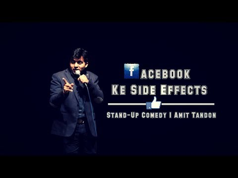 connectYoutube - Facebook Ke Side Effects - Stand Up Comedy by Amit Tandon