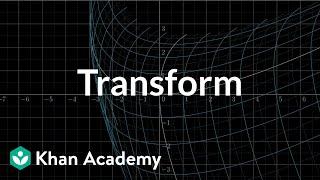 Transformations, part 2 | Multivariable calculus | Khan Academy