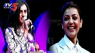PV Sindhu and Kajal Agarwal at TANA 21st Convention Celebrations