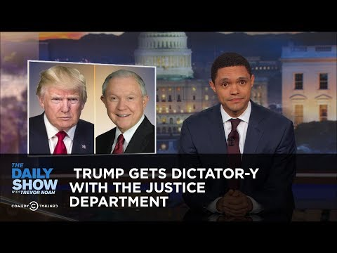 connectYoutube - Trump Gets Dictator-y with the Justice Department: The Daily Show