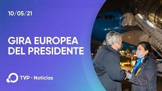 Gira europea de Alberto Fernández