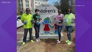 Mom and daughter to donate pajama sets to Children Healthcare of Atlanta patients