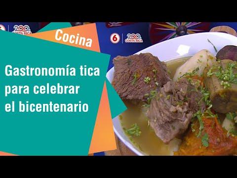 Gastronomía tica para celebrar el bicentenario   Cocina