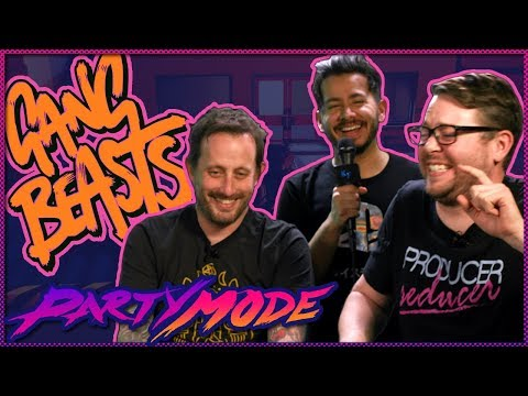 Gang Beasts with Geoff from Achievement Hunter - Party Mode