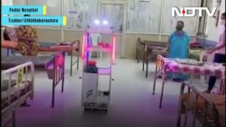 'Robot' Serves Food, Water To COVID-19 Patients At Mumbai Hospital - NDTV