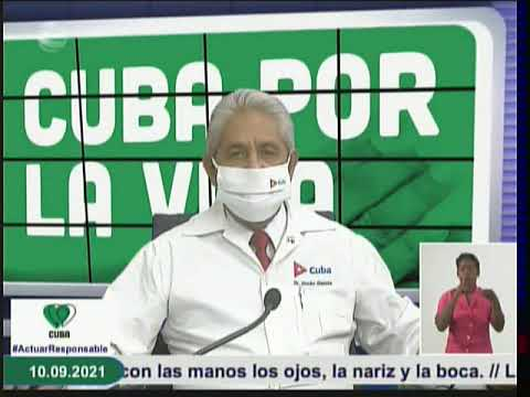 Conferencia de Prensa: Cuba frente a la Covid-19 (10 de septiembre de 2021)