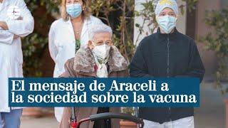 El mensaje de Araceli a toda la sociedad