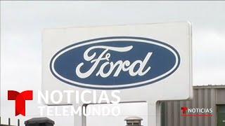 La automotriz Ford cierra sus puertas tres días de reabrir debido al coronavirus   Telemundo