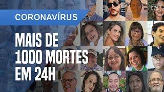 COVID-19 SE TORNA A PRINCIPAL CAUSA DE MORTES HOJE NO BRASIL