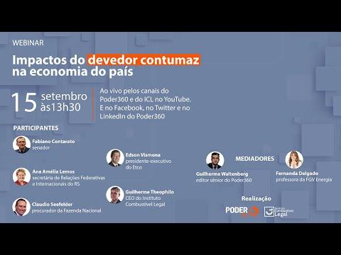 Ao vivo: Poder360 e ICL realizam debate sobre os impactos do devedor contumaz na economia nacional