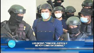 Ex Director de la lotería, Luis Dicent: Vine por justicia y me voy como un criminal