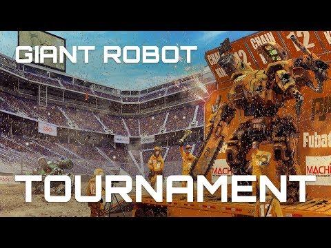 GIANT ROBOT TOURNAMENT KICKSTARTER