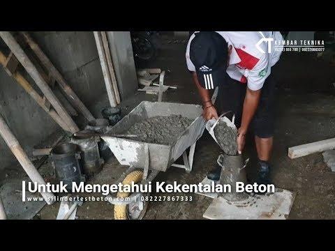 Cara Melakukan Uji Slump Beton